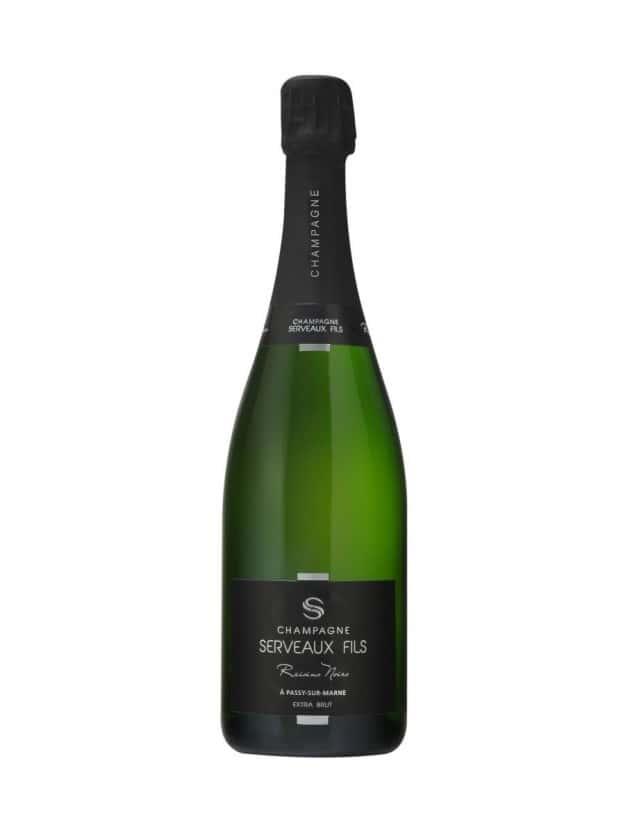 Raisins Noirs champagne serveaux fils