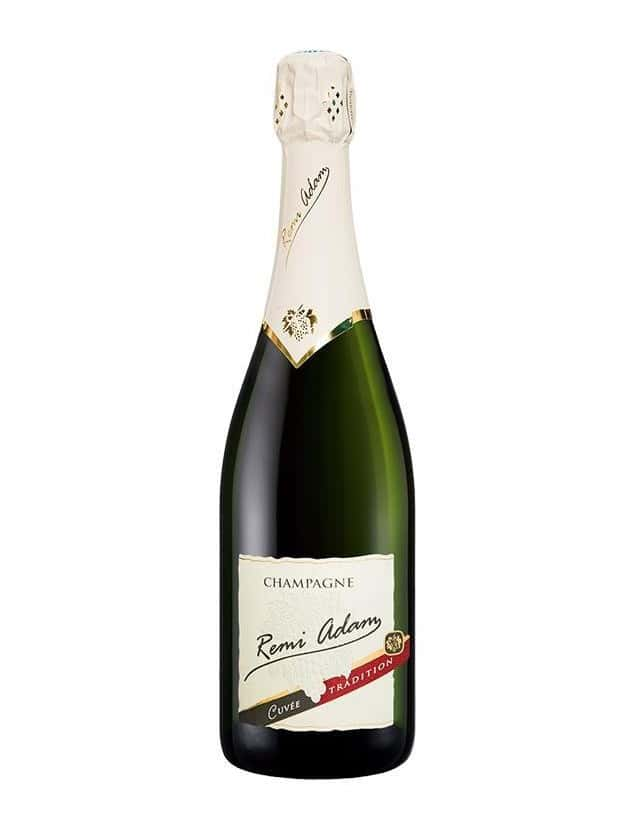 "Cuvée Brut ""Tradition"" champagne remi adam"