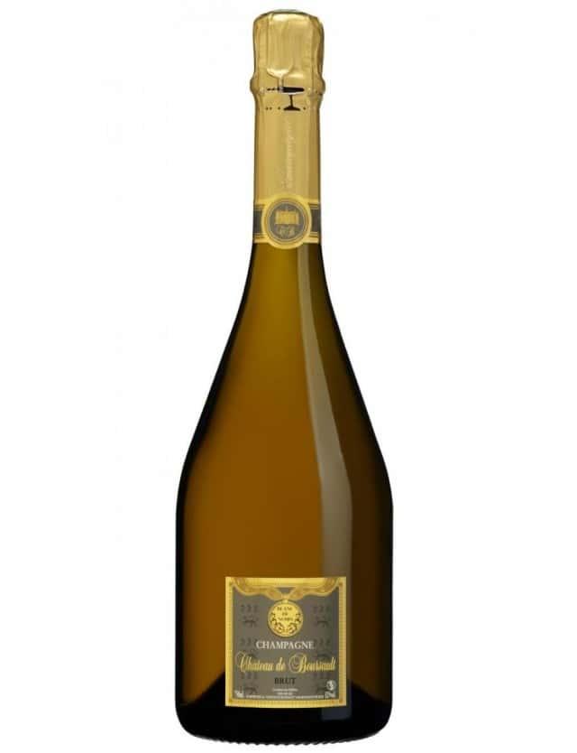 Blanc de Noirs champagne chateau de boursault
