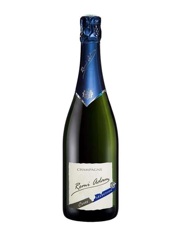 """Cuvée Brut """"Sélection"""" champagne remi adam"""