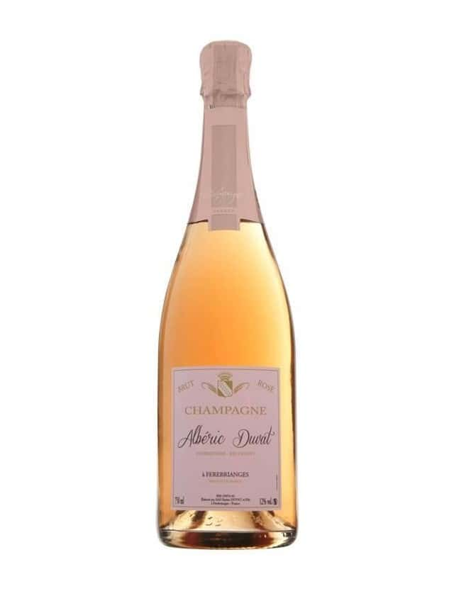 Champagne Rosé Brut Tradition champagne alberic duvat