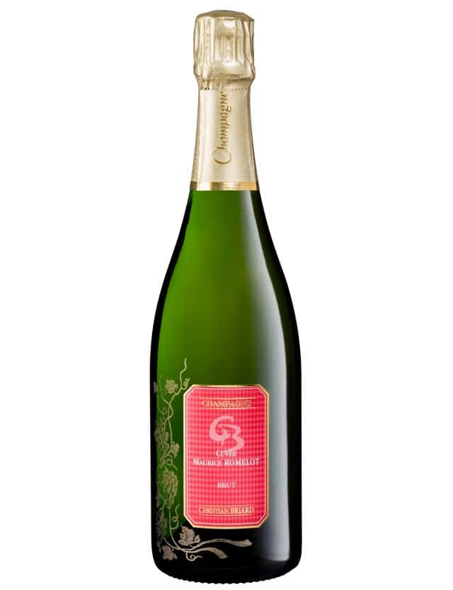 Cuvée Maurice Romelot champagne christian briard