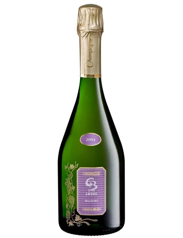 Cuvée Ambre 2004 champagne christian briard
