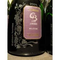 Cuvée Ambre 2009 Edition limtée