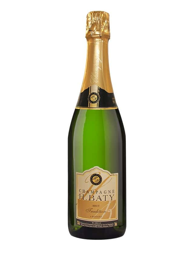 BRUT TRADITION Champagne H. Baty