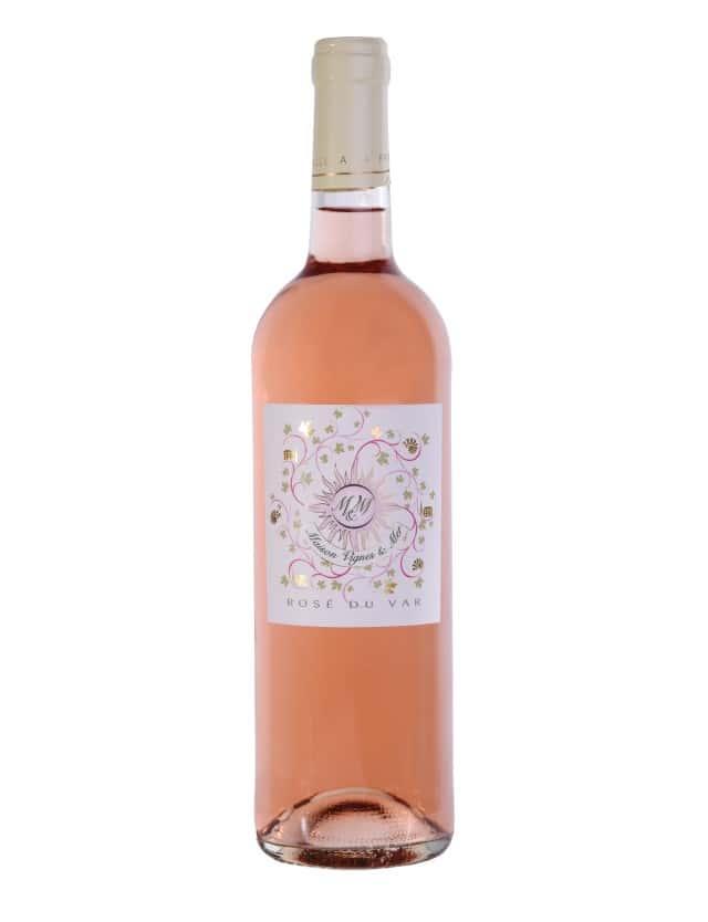 IGP Rosé du Var maison vignes et mer