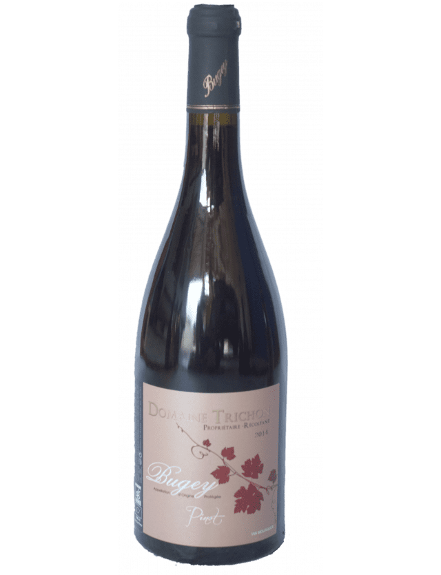 Organically-grown Pinot Noir domaine trichon