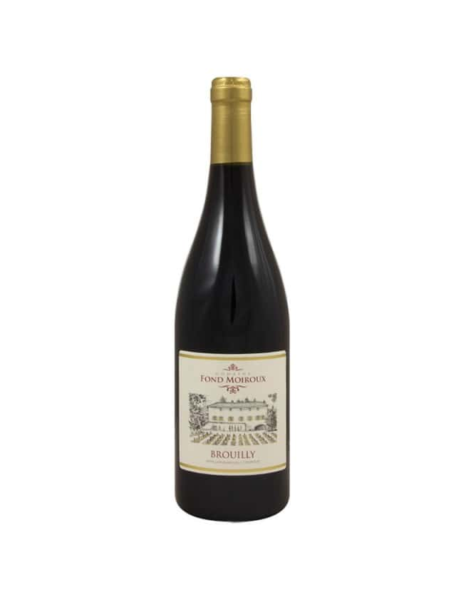 Brouilly domaine fond moiroux
