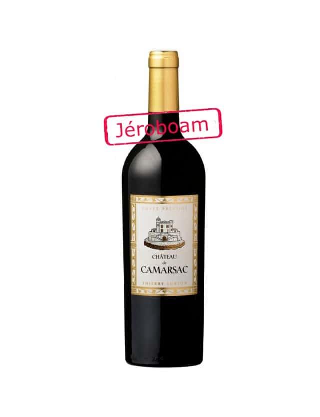 Cuvée Prestige Jéroboam 3L château de camarsac - thierry lurton
