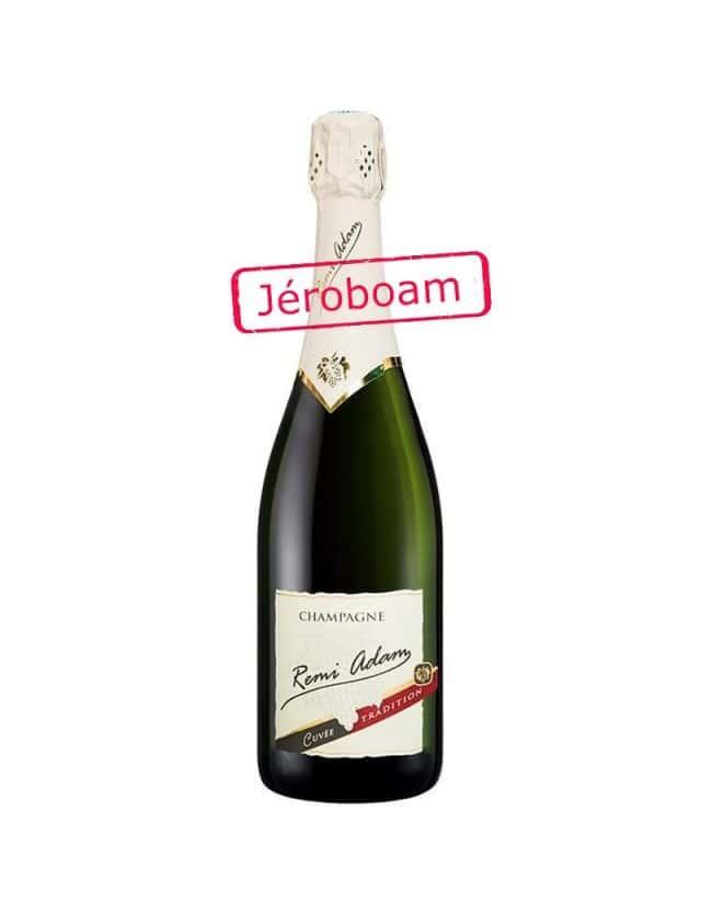 """Cuvée Brut """"Tradition"""" Jéroboam champagne remi adam"""