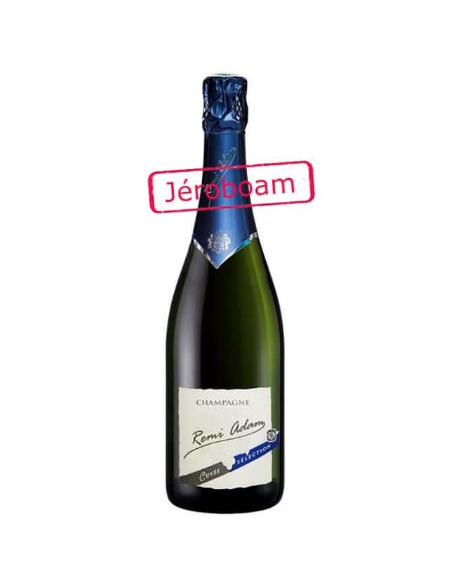 """Cuvée Brut """"Sélection"""" Jeroboam champagne remi adam"""