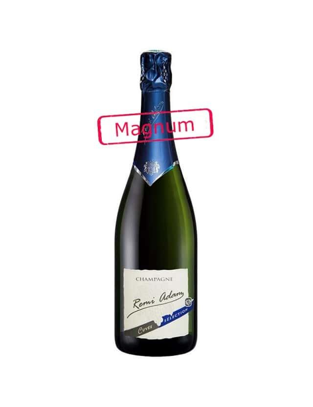 """Cuvée Brut """"Sélection"""" Magnum champagne remi adam"""
