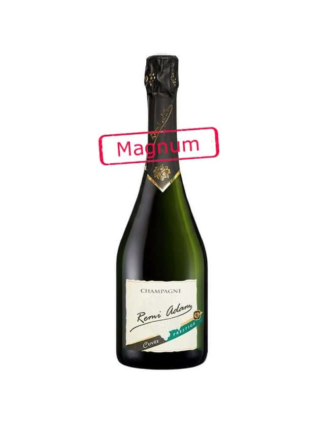 """Cuvée Brut """"Prestige"""" Magnum champagne remi adam"""