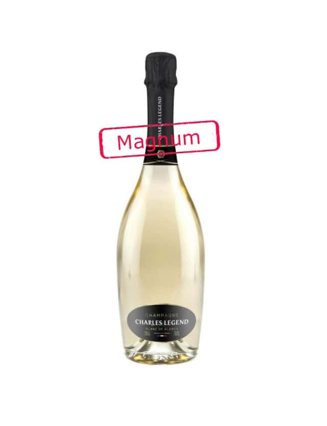 BLANC DE BLANCS magnum champagne charles legend
