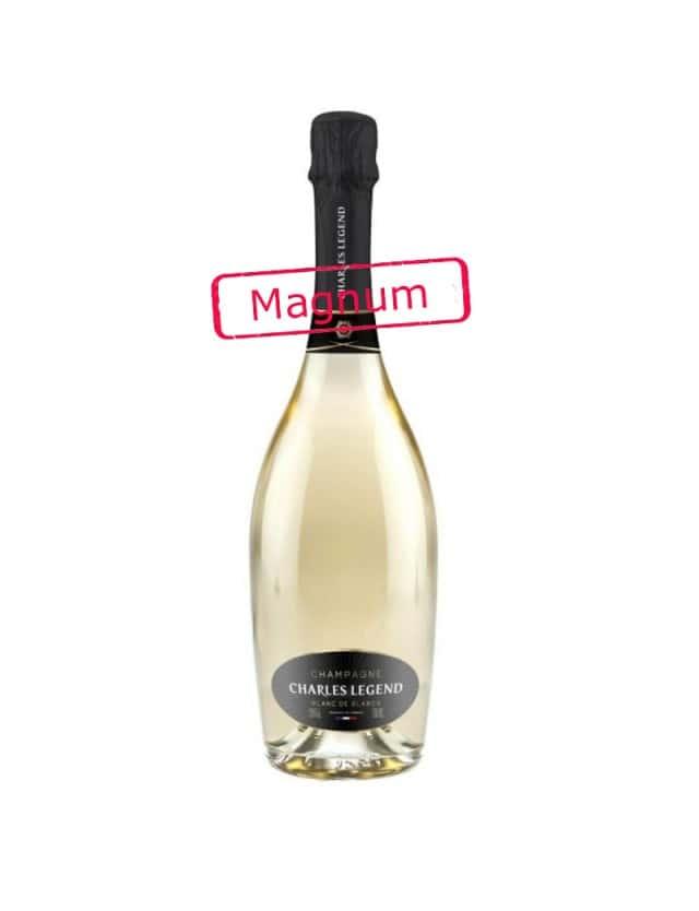 Magnum BLANC DE BLANCS champagne charles legend