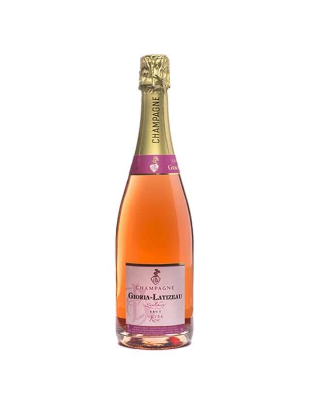Brut Rosé champagne gioria latizeau