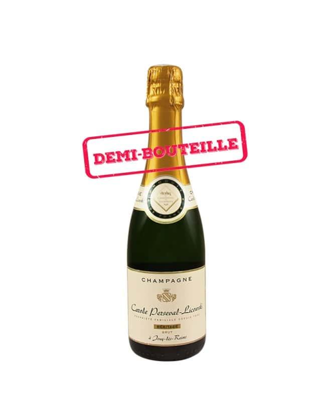 Cuvée Héritage - Demi Bouteille champagne carole perseval