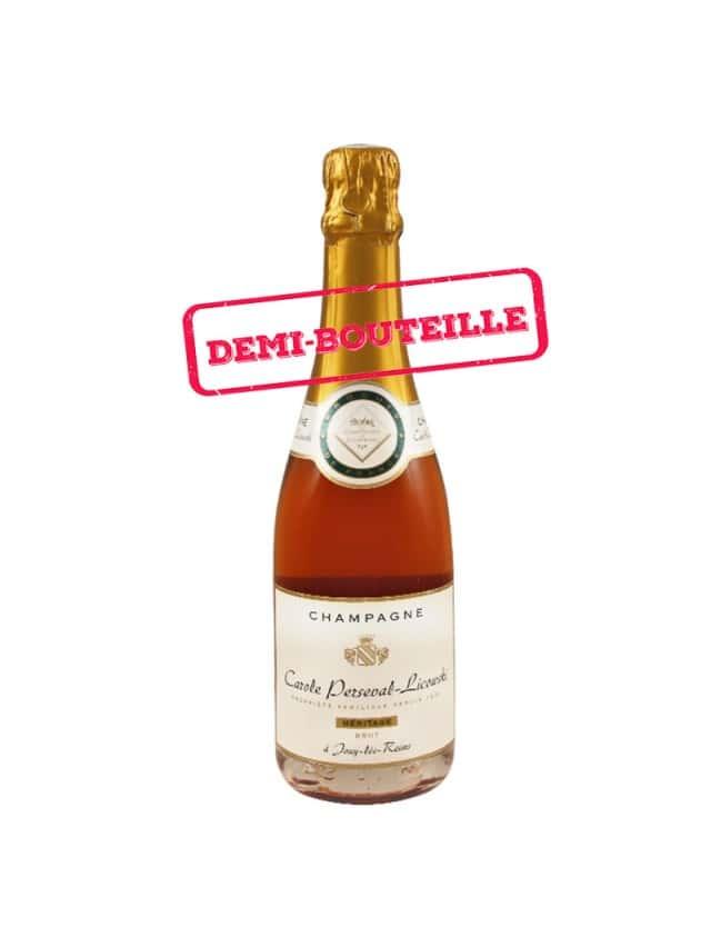Cuvée Héritage Rosé - Demi Bouteille champagne carole perseval