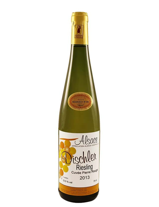 Riesling Cuvée Pierre Rouge domaine dischler