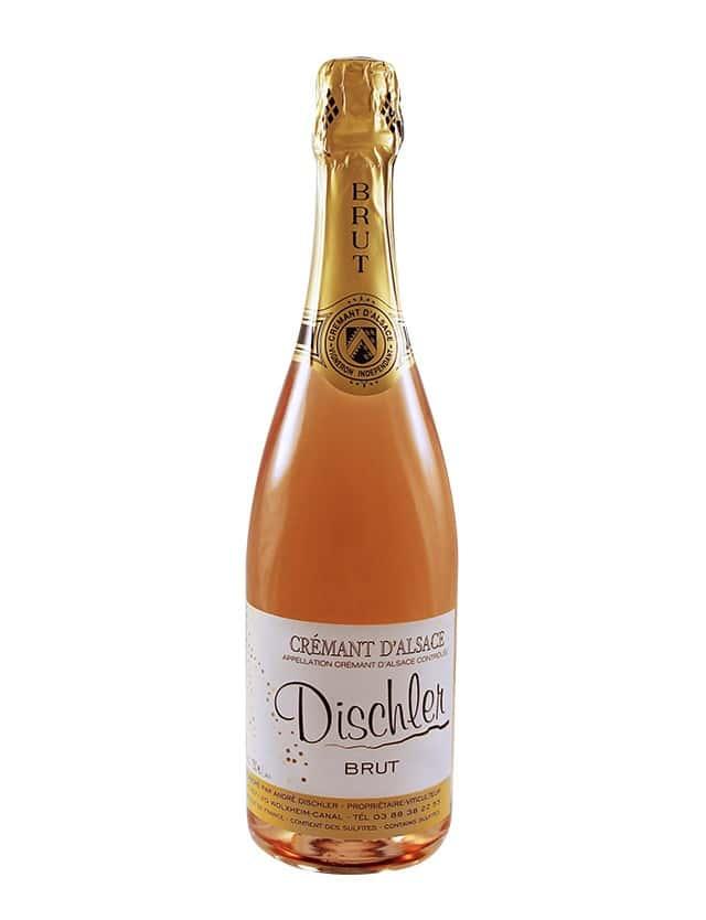 Non-Vintage Crémant Rosé Brut DOMAINE DISCHLER