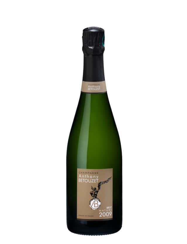 Champagne Brut Nature millésime champagne anthony betouzet