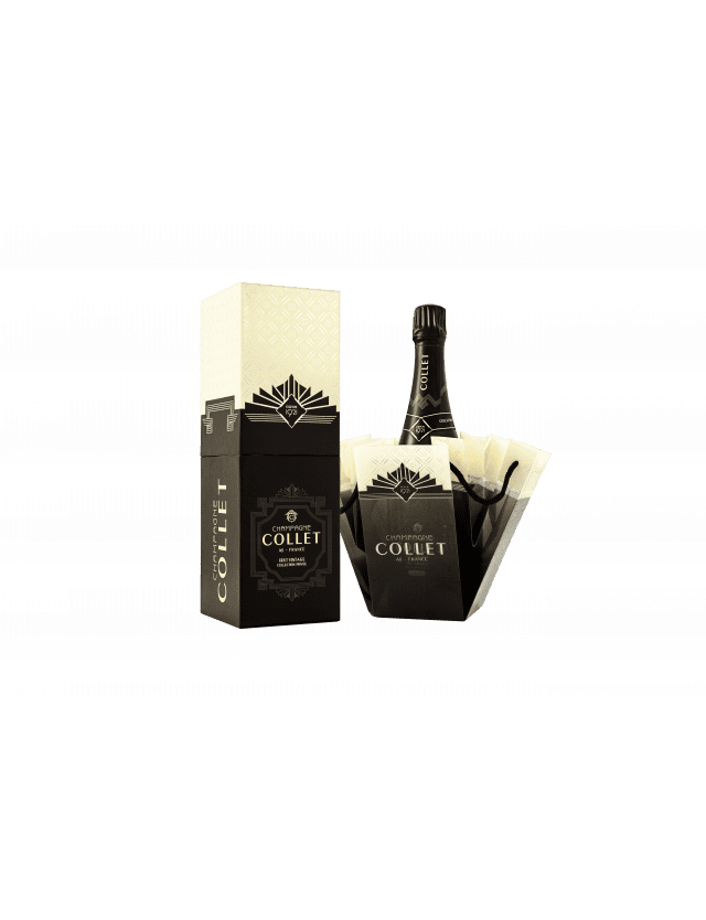 So Collet Brut Vintage 2008 Collection Privée box champagne collet