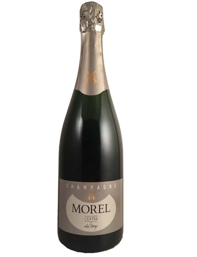 L'extra (Blanc de Noirs) Champagne Morel