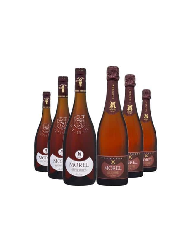 100% Rosé Terroir des Riceys champagne morel