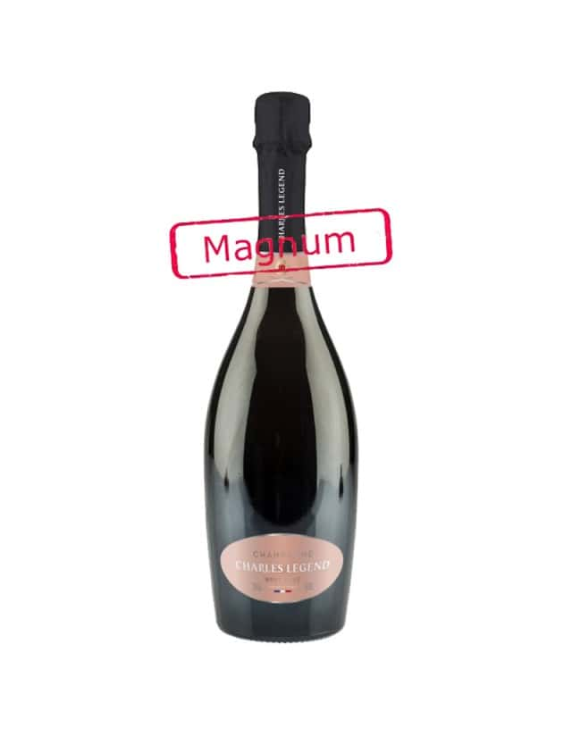 Magnum ROSE champagne charles legend