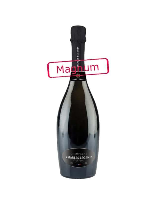 BRUT ROYAL magnum champagne charles legend