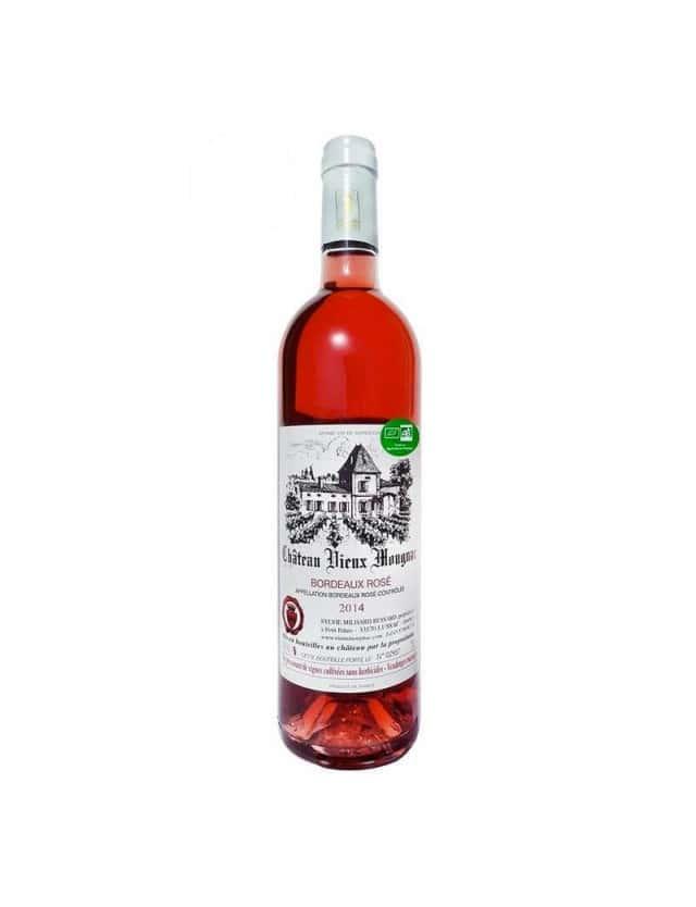 Bordeaux Rosé château vieux mougnac