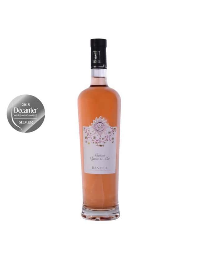 Bandol Rosé maison vignes et mer