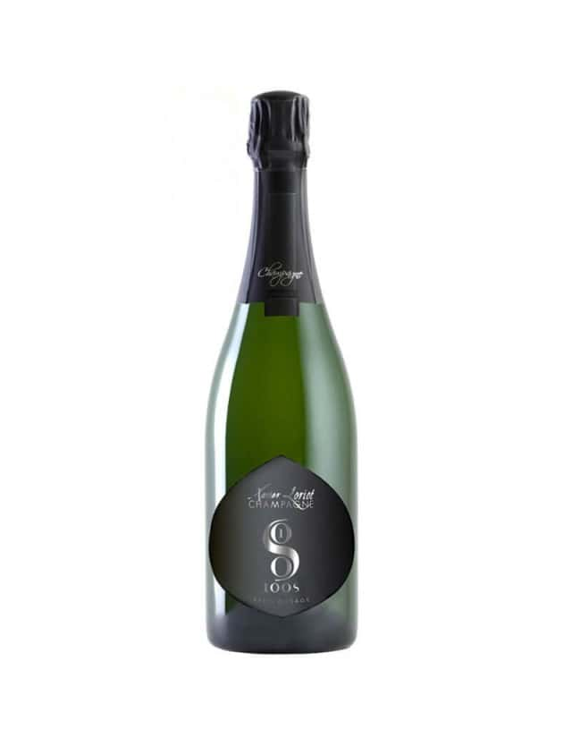 100s Extra Brut champagne xavier loriot