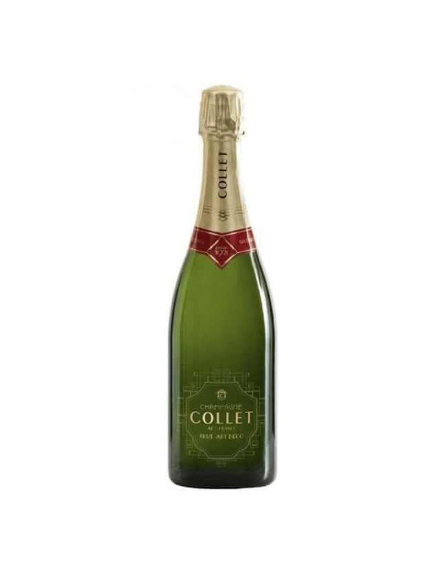 Cuvée Brut Art Déco champagne collet