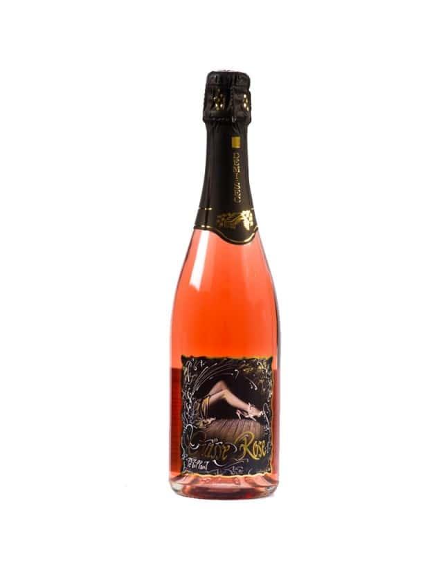 Cuisse Rose Pétillant Rosé demi-sec domaine trichon