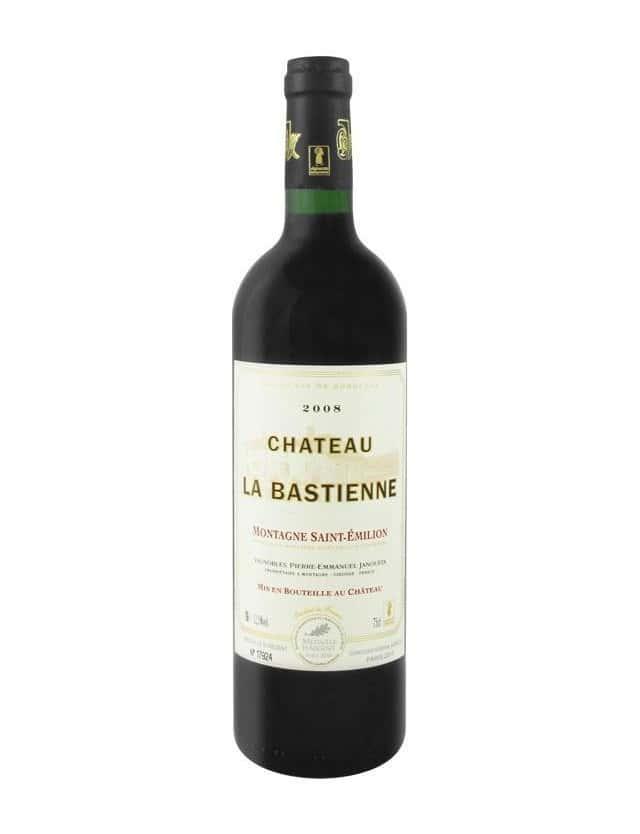Cuvée Château LA BASTIENNE vignobles janoueix