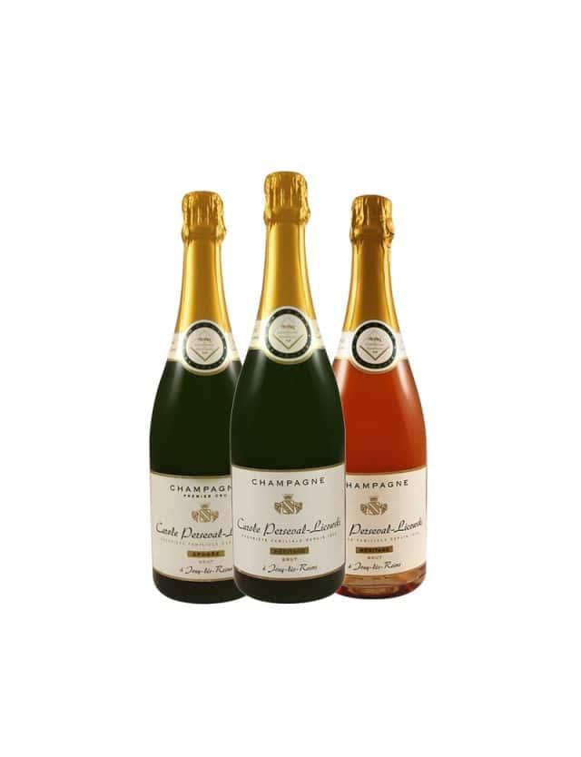 Epicuriosité 2 - 3 bouteilles champagne carole perseval-licowski