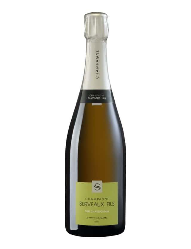 Pur Chardonnay champagne serveaux fils