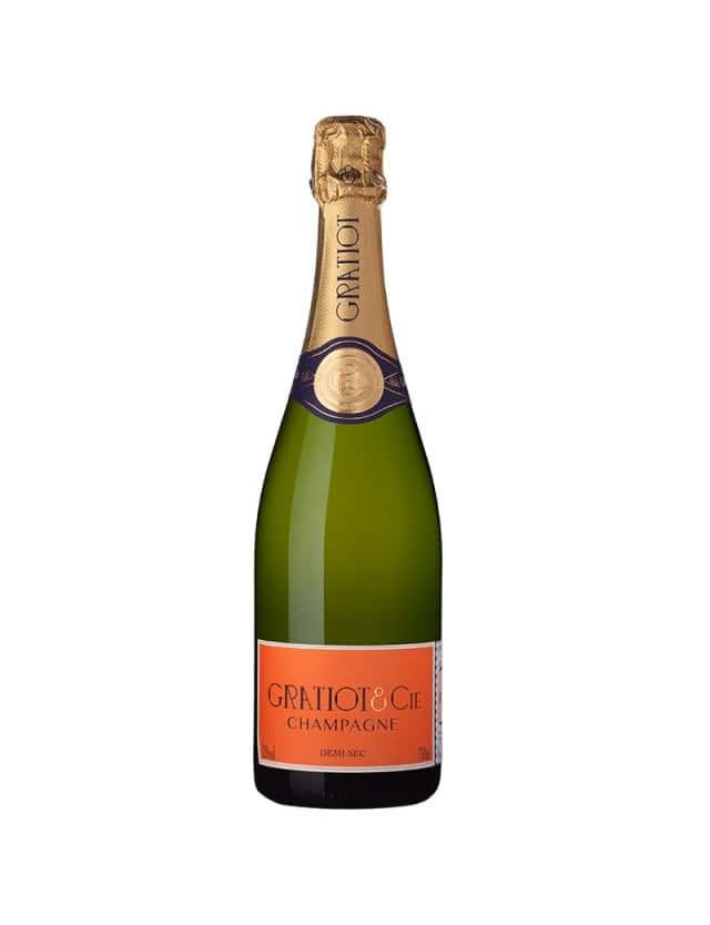 Demi-Sec champagne gratiot & cie