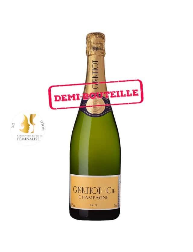 Brut Demi-Bouteille champagne gratiot & cie