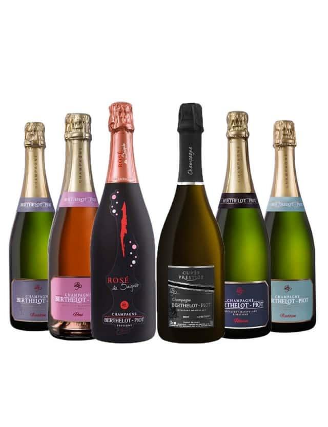Coffret Découverte Champagne Berthelot-Piot champagne berthelot-piot