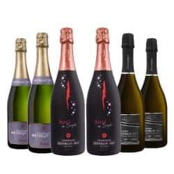 Coffret Prestige Champagne Bertelot Piot