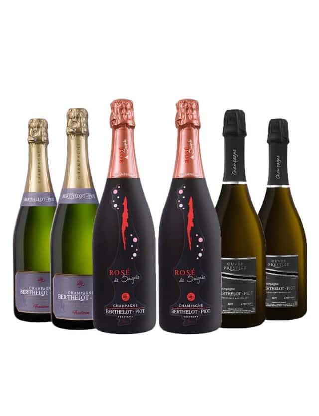 Coffret Prestige champagne berthelot-piot