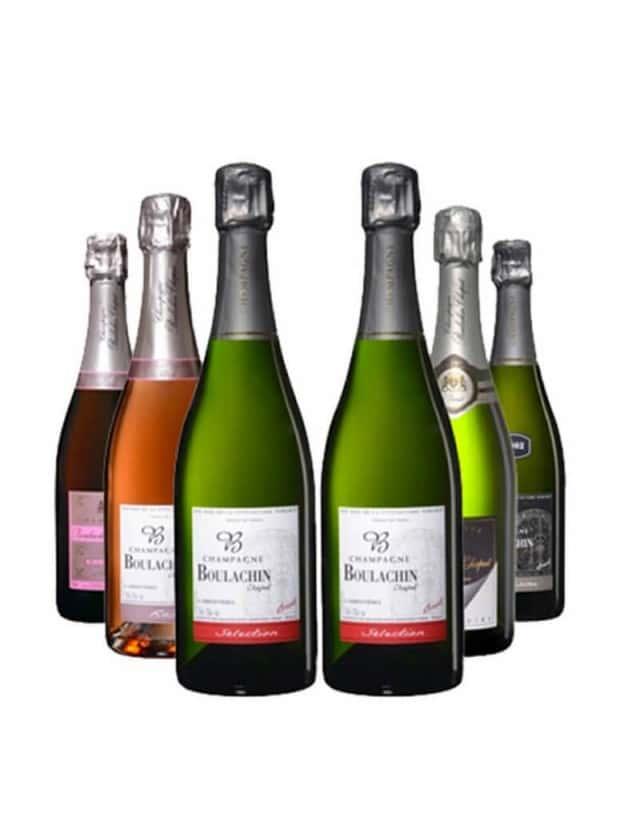 Coffret découverte Boulachin champagne boulachin chaput