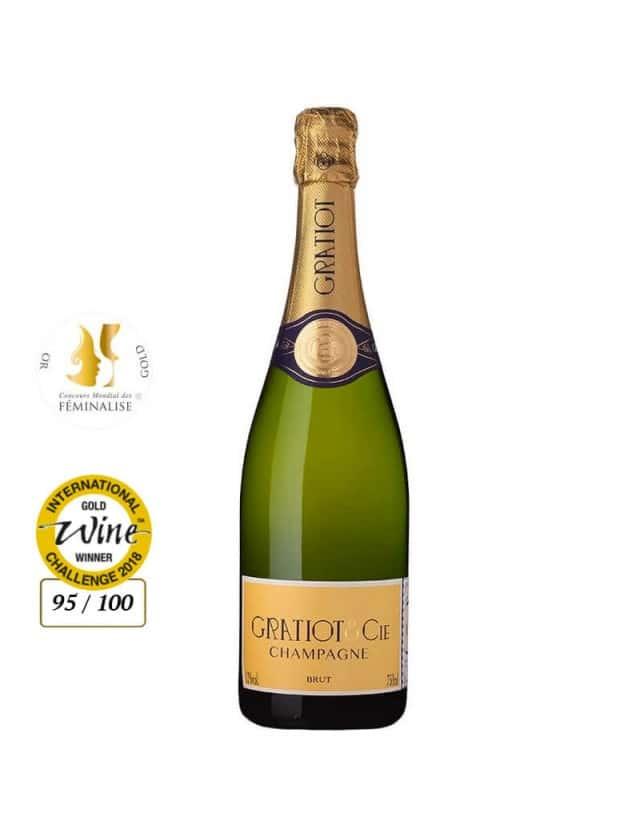 Brut champagne gratiot & cie