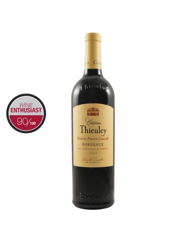 Thieuley Réserve Francis Courselle château thieuley