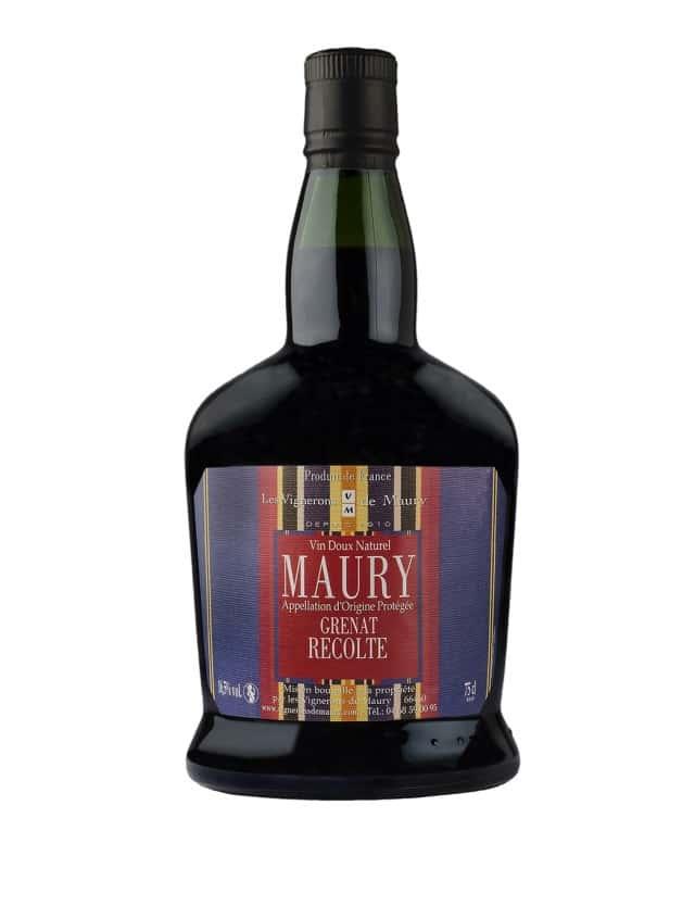MAURY RECOLTE les vignerons de maury