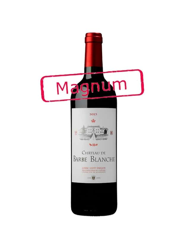 Château de Barbe Blanche - Magnum château de barbe blanche - les vignobles andré lurton