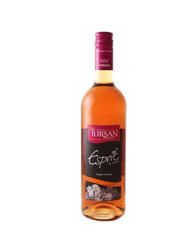 Esprit De Tursan Rosé la cave des vignerons de tursan