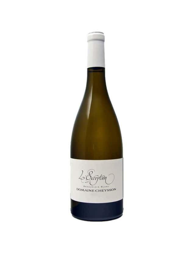 Beaujolais Blanc - Exception domaine cheysson